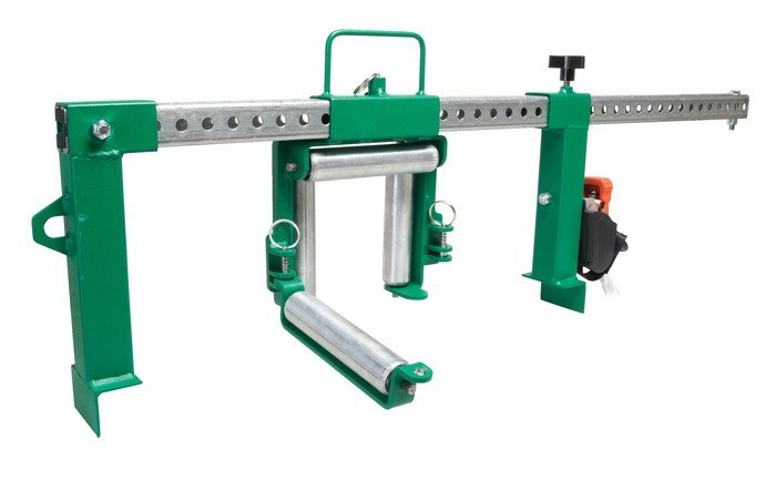Cable Tray Roller Wire Pulling - Wire Data •