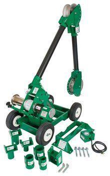 Greenlee Pulling - Faster, Safer, Easier®