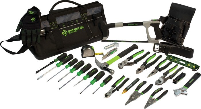 "20"" HEAVY DUTY  MULTI-POCKET 28 PIECE TOOL KIT"
