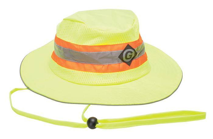 HAT, HI-VIS WIDE BRIM