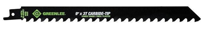 BLADE,RECIP-9 X 3/4 3TPI CARB TIP (PKGD)