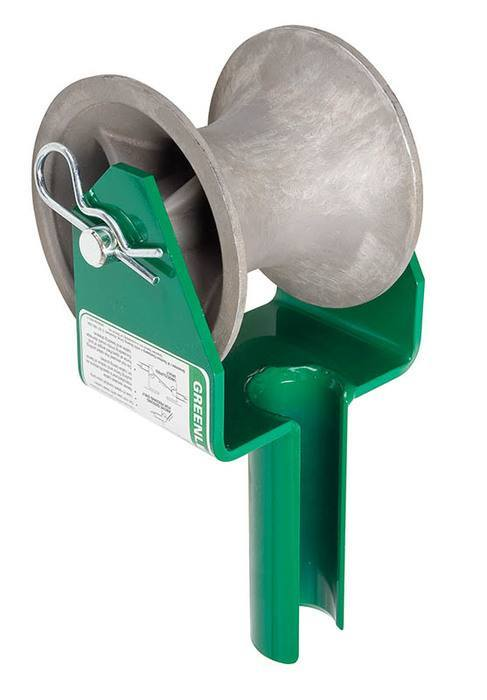 Greenlee Hook & Feeding Sheaves - Faster, Safer, Easier®