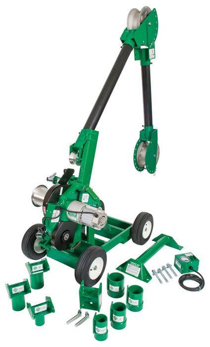 PULLER PACKAGE, CABLE (6005) - Greenlee -Faster, Safer, Easier ...