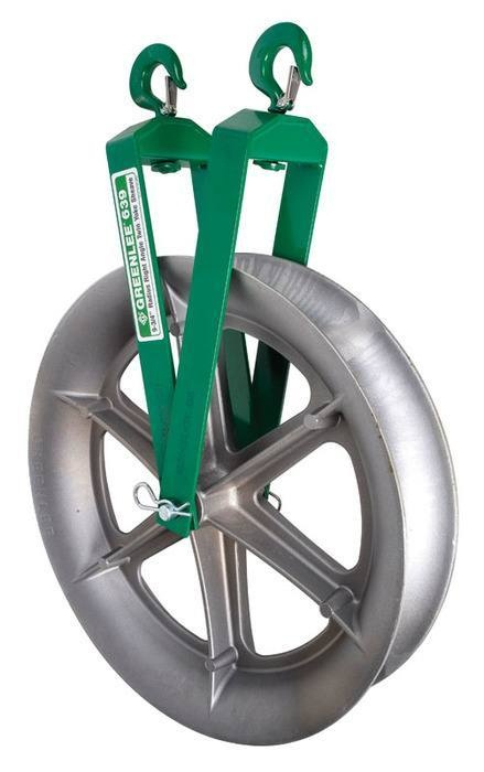 SHEAVE-TWIN YOKE 3/4 (639) - Greenlee -Faster, Safer, Easier ...