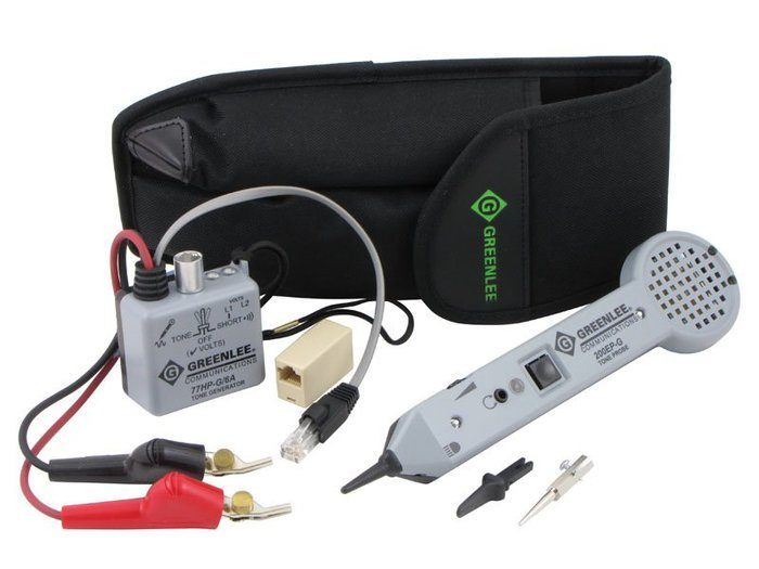 TONE & PROBE KIT, STD (701K-G/6A) (CLAM)