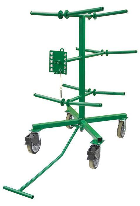 Greenlee Greenlee Wire Carts - Professional. Nothing Less.™
