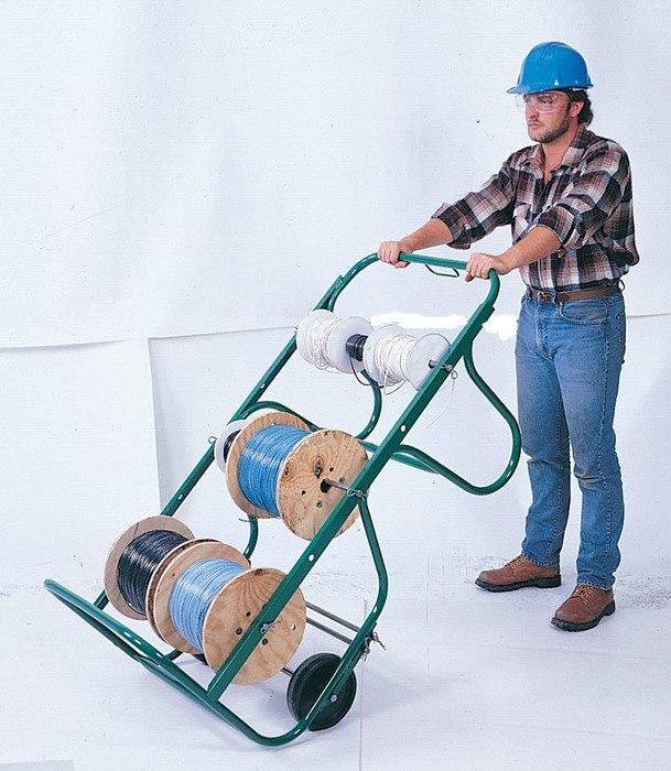 Greenlee Greenlee Wire Carts - Faster, Safer, Easier®