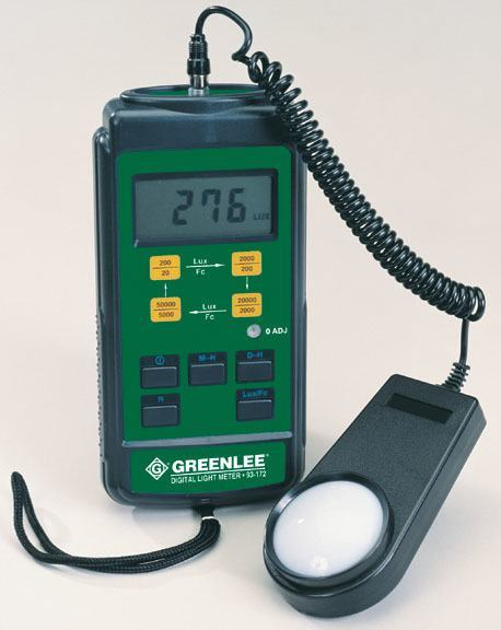 Greenlee Light Meters Testers Faster Safer Easier