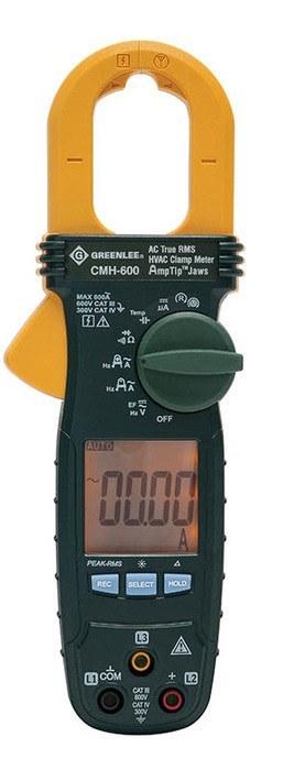 The Best Hvac Clamp Meter : Amp hvac ac true rms clamp meter greenlee faster