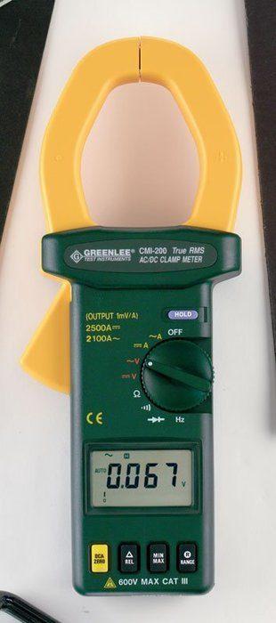 CLAMP METER-TRMS 2000A AC (CMI-200)