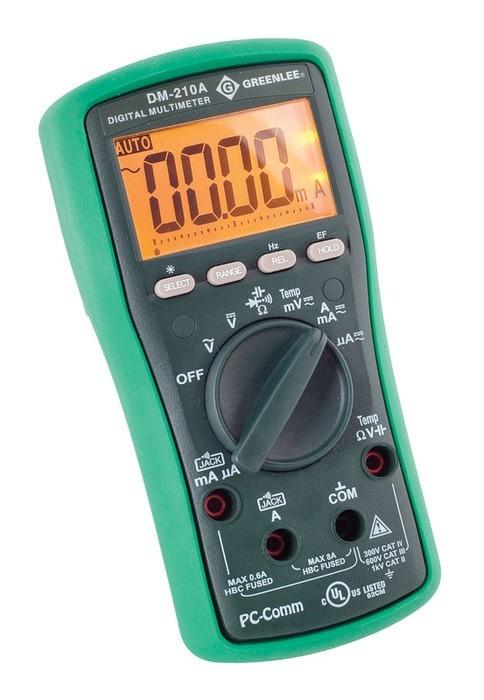 DMM,1KV AC/DC,CAP,TEMP(DM-210A)