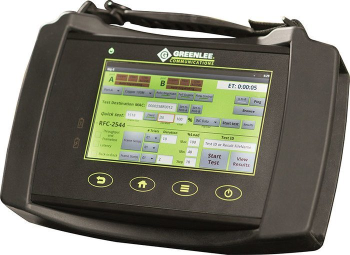DS10G DATASCOUT MULTI-SERVICE NETWORK ANALYZER