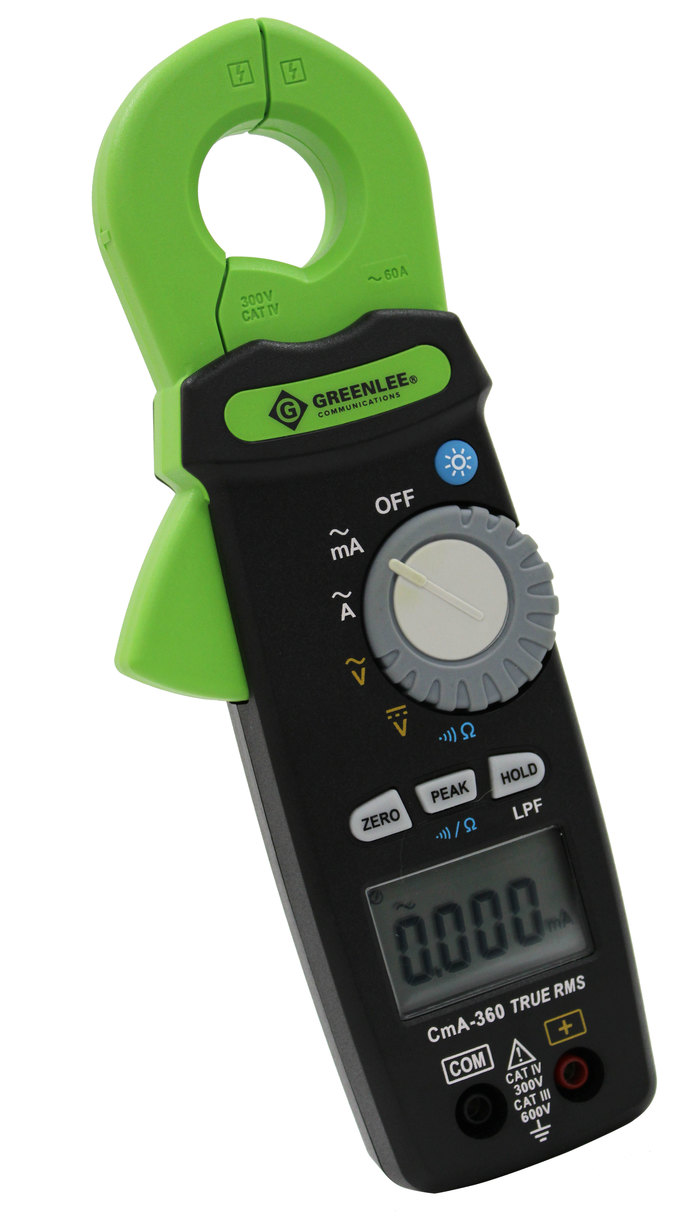 CmA-360 True RMS Milliamp Clamp Meter
