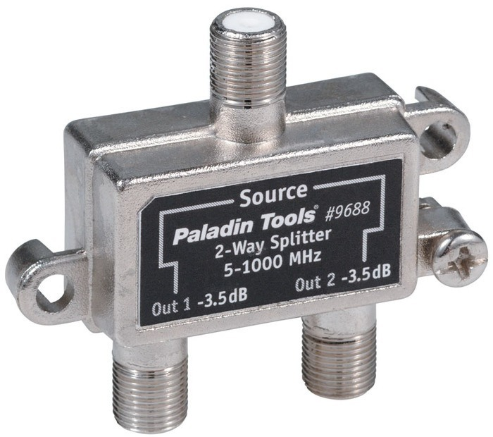 SPLITTER 2-WAY DIGITAL READY 5-1000Mhz