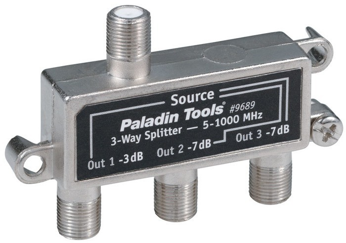 SPLITTER 3-WAY DIGITAL READY 5-1000Mhz
