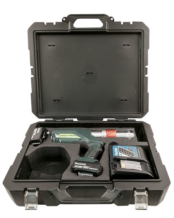 Gorilla Pistol Grip Press Tool & Battery and Charger Kit