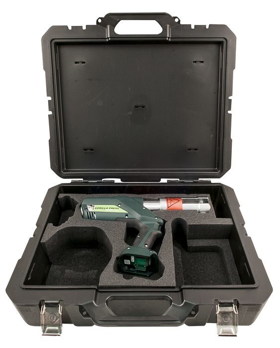 Gorilla Pistol Grip Press Bare Tool with Case Kit
