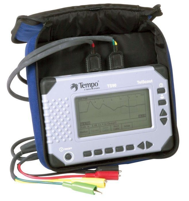 Greenlee Cable Fault Locator : Telscout™ ts telephone tester greenlee faster safer