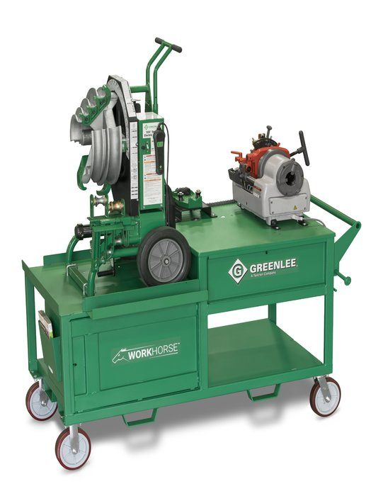 WORKHORSE ALL-IN-ONE BENDING AND THREADING WORKSTATION