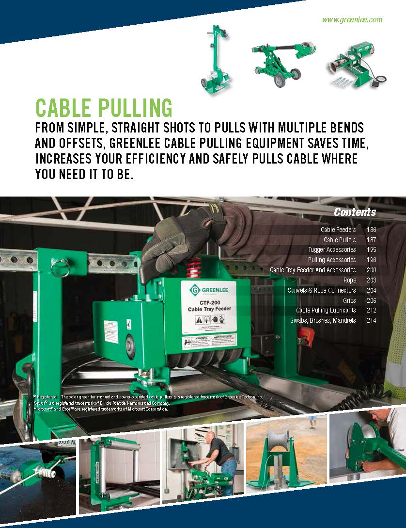 Greenlee Full-Line Product Catalog