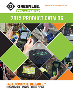 Greenlee Communications Product Catalog