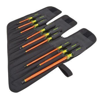 SCREWDRIVER,INSULATED 9PC