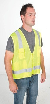 VEST, HI-VIS SURVEYOR, CLASS 2, L/XL