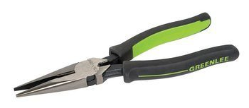 "PLIERS,LONG NOSE,8"" MOLDED"