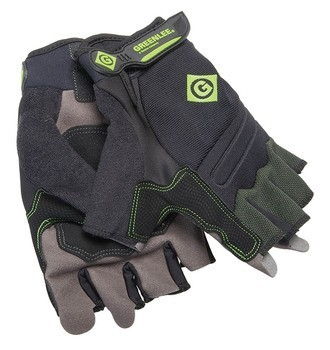 GLOVES, TRADESMAN FINGERLESS, L