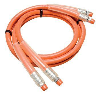 "HOSE ASSEMBLY, 3/8"" X 10' ORANGE"