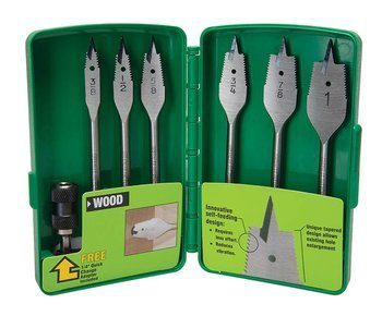 BIT,SPADE-SF CORDED (6PC KIT) POP