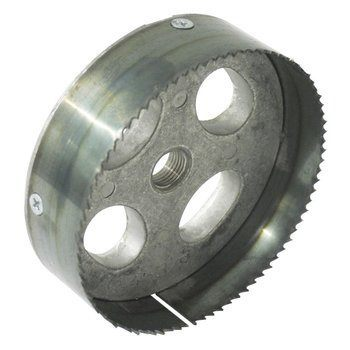 HOLESAW,LIGHT 4-3/8 STEEL TOOTH