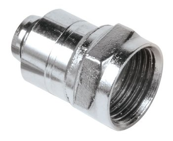 CONNECTOR,F CRIMP-RG6 (50 PAK)