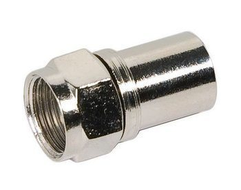 CONNECTOR,F CRIMP-RG6 Q (50 PAK)