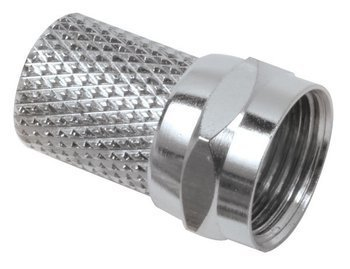 CONNECTOR, F TWIST-RG59 (10 PAK)
