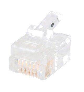 CONNECTOR,RJ12-6C (25 PAK)