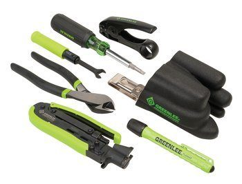 PROFESSIONAL COAX TOOL KIT-SHORT(GREEN)