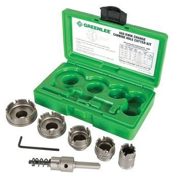 CARBIDE CUTTER SET, QUICK CHANGE, 5PC