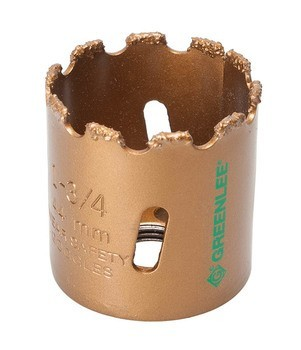 "HOLESAW-1-3/4""PKGD.CARBIDE GRIT"