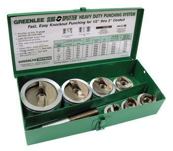 HYDRAULIC KNOCKOUT PUNCH SET, SC