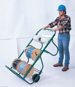 WIRE REEL CART