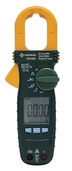 600 AMP AC TRUE RMS CLAMP METER CALIBRATED