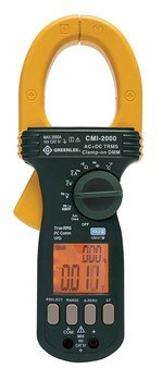 CLAMPMETER,AC/DC-CALIBRATED (CMI-2000-C)