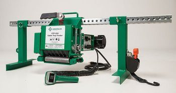 Greenlee Cable Feeder Professional Nothing Less