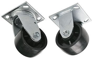 CASTER SET,SWIVEL (4)