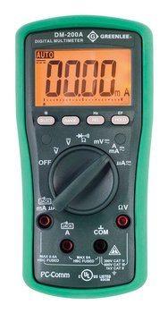 DMM,1KV AC/DC(DM-200A)(CALIB)