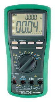 DMM, TRMS AC+DC,DUALTEMP(DM-830A)