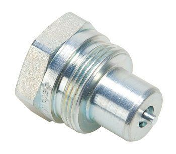 COUPLER-HYD MALE 3/8-18 NPTF