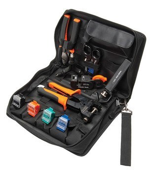 KIT COAX COMPRESSION TOOL KIT