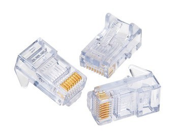 CONN, SNAGLESS RJ45, CAT5e, 10 PK